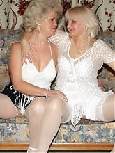 XXX videos of two very horny mature women Francesca and Eelene sharing a huge dildo